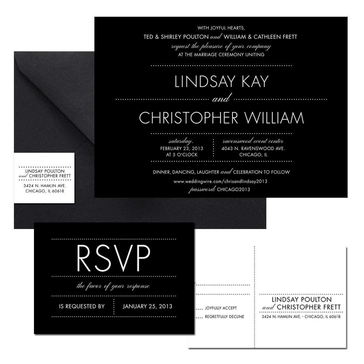 Modern wedding invitations for you: Contemporary wedding invitations ...