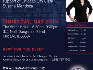 Susana Mendoza Fundraiser Event