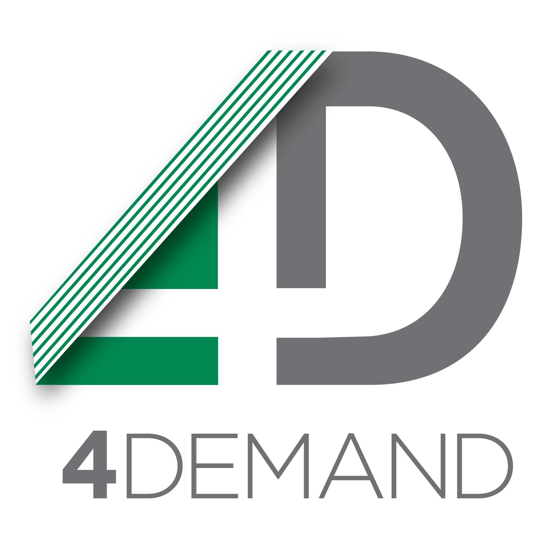 4demand logo design